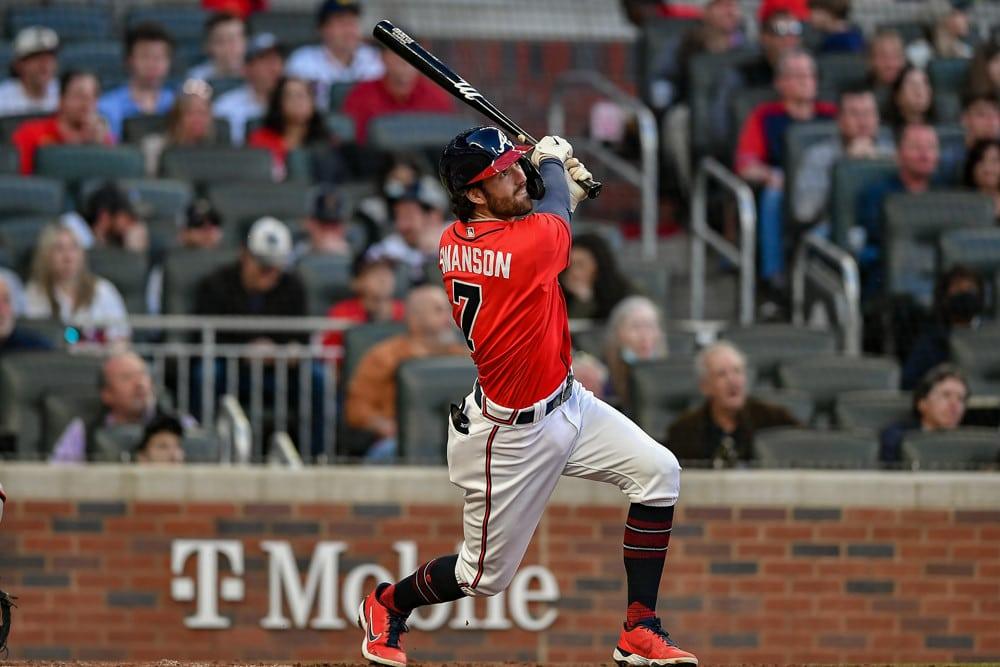 Dansby Swanson Home Run